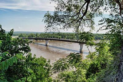 Photograph - Missouri River At Hermann by Cricket Hackmann