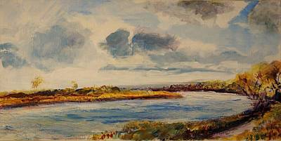 Painting - Missouri River by Helen Campbell