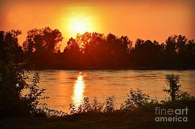 Photograph - Missouri River In St. Joseph by Kathy M Krause