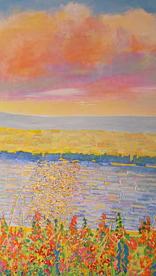 Painting - Missouri River by Rodger Ellingson