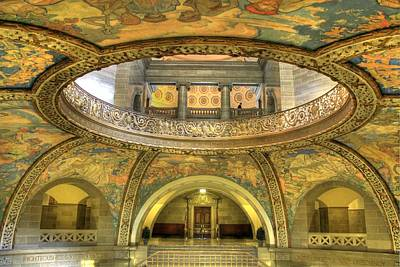 Missouri State Capitol Rotunda Art Print