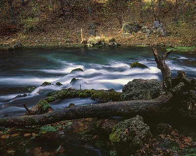 Photograph - Missouri Stream by Rod Shelley