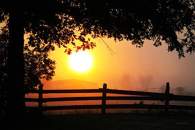 Photograph - Missouri Sunrise by Robin Coventry