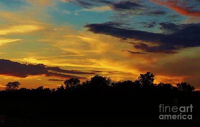 Photograph - Missouri Sunset by Larry Campbell