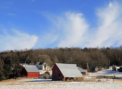 Photograph - Missouri Winter by Christopher McKenzie