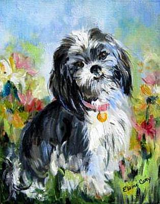 Painting - Missy Mollie by Elaine Cory