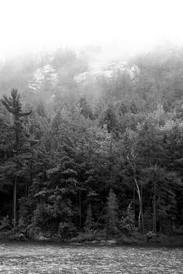 Photograph - Mist And Trees In Group Of Seven Country  by Christine Montague