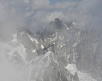 Photograph - Mist At Aiguille Du Midi by Stephen Taylor