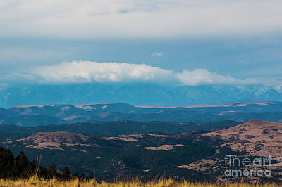 Steven Krull Royalty-Free and Rights-Managed Images - Mist Capped Sangre De Cristo by Steven Krull