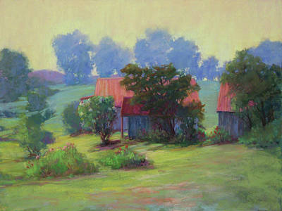 Painting - Mist In The Morning by Marsha Savage