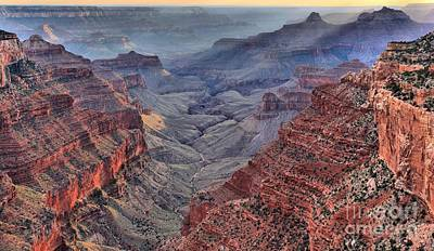 Photograph - Mist In The North Rim by Adam Jewell