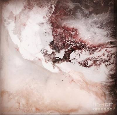 Abstract Graphics - Mist by Kusum Vij
