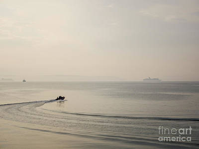 Photograph - Mist On Belfast Lough by Jim Orr