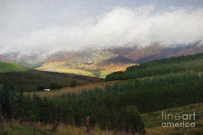 Photograph - Mist On The Hills by Diane Macdonald