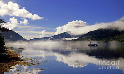 Photograph - Mist On The Loch by Lynn Bolt