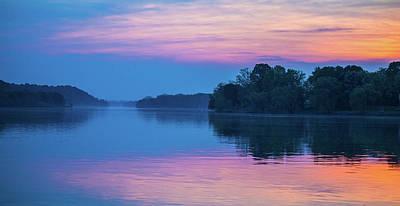 Photograph - Mist On The Ohio River by Jonny D
