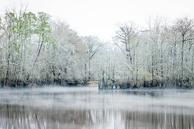 Photograph - Mist On The River by Van Sutherland