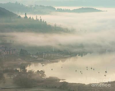 Ambleside Wall Art - Photograph - Mist Over Ambleside by Tony Higginson