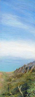 Islands Digital Art - Mist Over Napali by Kenneth Grzesik