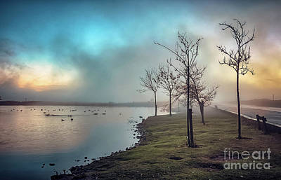 Photograph - Mist Over The Tarn by Mariusz Talarek