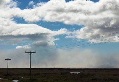 Mist Over Vestmannaeyjar Art Print by Sidsel Genee