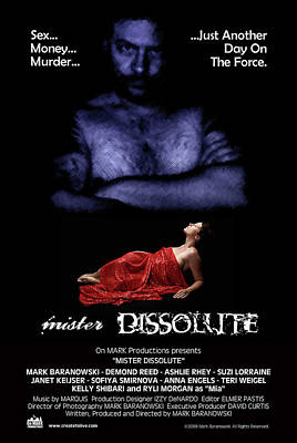 Digital Art - Mister Dissolute Poster A by Mark Baranowski