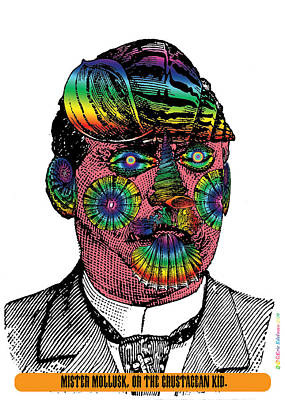 Mister Mollusk Art Print