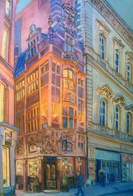 Painting - Mister Thomas' Chop Shop 1901 by Rosanne Gartner