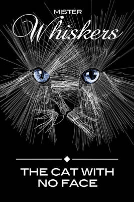 Digital Art - Mister Whiskers by ISAW Gallery