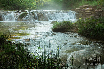 Photograph - Mistical Falls by Iris Greenwell