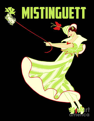 Rose - Mistinguett and her fluffy dog by Aapshop