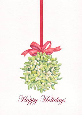 Painting - Mistletoe by Deborah Ronglien