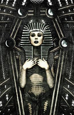 Digital Art - Mistress Of The House by Jason Casteel