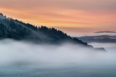Photograph - Mists From Klamath Overlook by Greg Nyquist