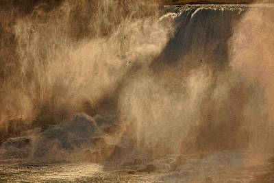Photograph - Mists Of Niagara by Theo O'Connor