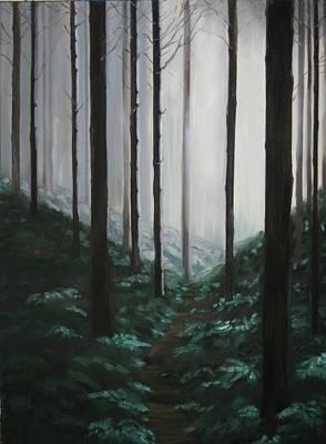 Mists Of Past Times Art Print by Maren Jeskanen