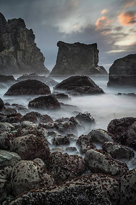 Photograph - Mists Of Patrick's Point Seas by Greg Nyquist