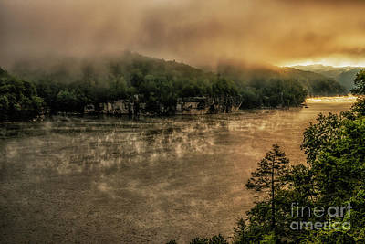 Photograph - Mists Of September Lake by Thomas R Fletcher