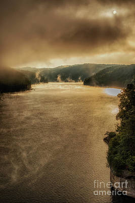 Photograph - Mists Of September On The Lake by Thomas R Fletcher
