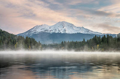 Photograph - Mists Of Siskiyou Lake by Greg Nyquist