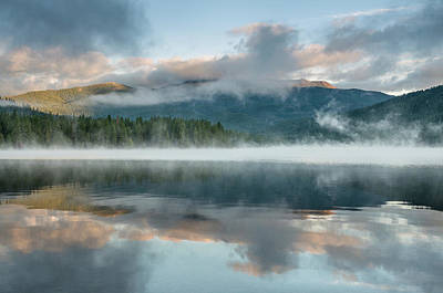 Photograph - Mists Of The Summer Dawn by Greg Nyquist