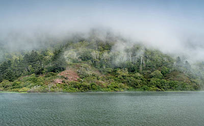 Photograph - Mists On Freshwater Lagoon by Greg Nyquist