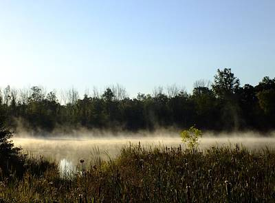 Photograph - Mists On The Welland by Peggy King