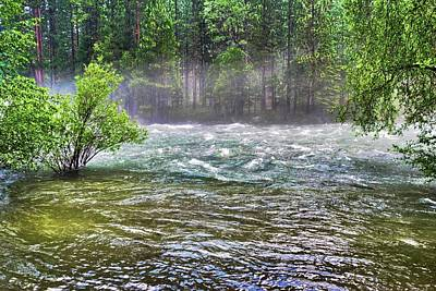 Photograph - Mists Over The King's River by Kirsten Giving