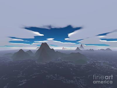 Misty Archipelago Original by Gaspar Avila