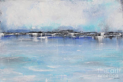Painting - Misty Blue-a by Jean Plout