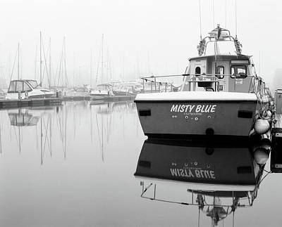 Photograph - Misty Blue Eastbourne by Will Gudgeon