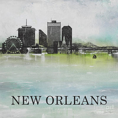 Painting - Misty Blue-new Orleans by Jean Plout