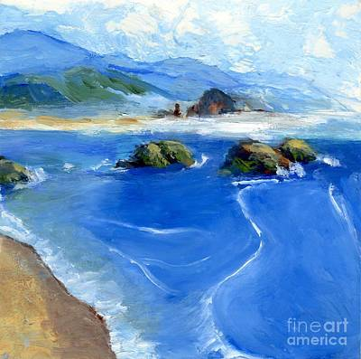 Painting - Misty Bodega Bay by Randy Sprout