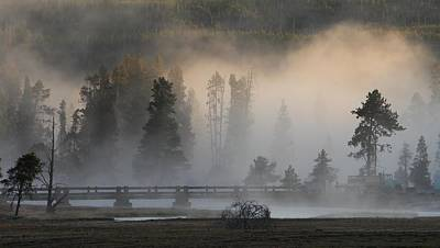 Photograph - Misty Bridge by David Andersen